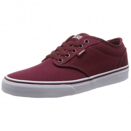 Vans Atwood Canvas Trainers Wine White Image