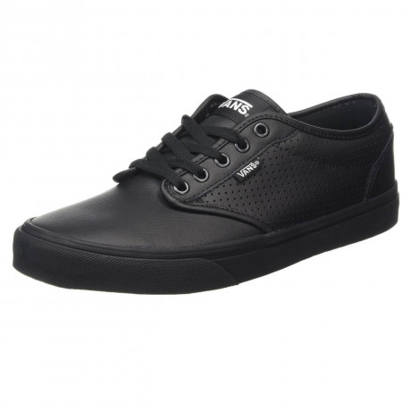 VANS Atwood Perforated Leather Shoes Black
