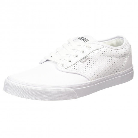 VANS Atwood Perforated Leather Shoes White