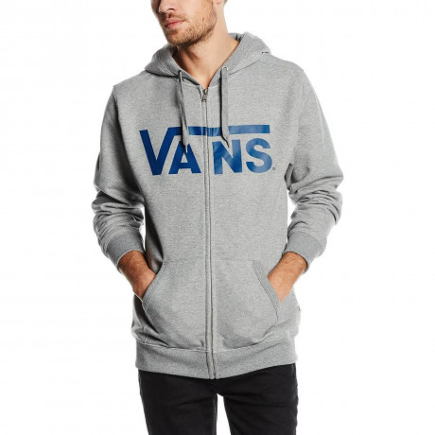VANS Classic Zip Hoodie Grey