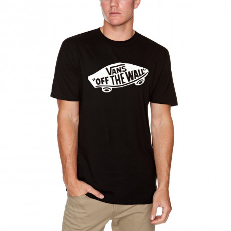 Vans Off The Wall Crew Neck Print T-shirt Black Image