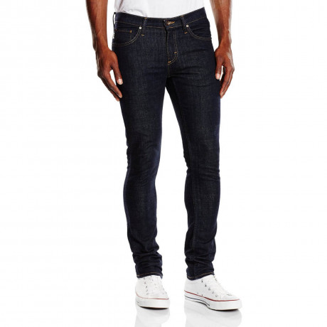 VANS V76 Skinny Denim Jeans Indigo Midnight