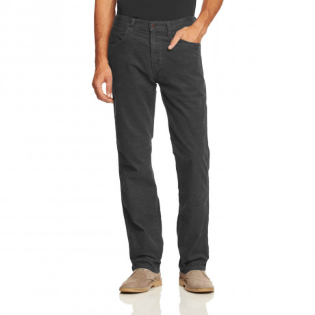 Wrangler Arizona Stretch Cords Grey Lake Image