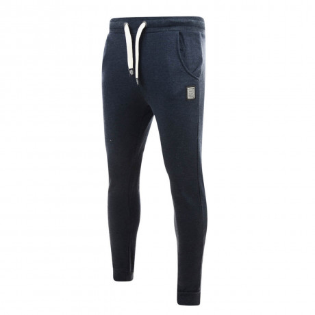 Smith & Jones Wetherby Cuffed Sweat Pants Navy Blue Marl