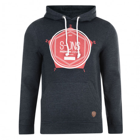Smith & Jones Tavistock Hoodie Navy Marl