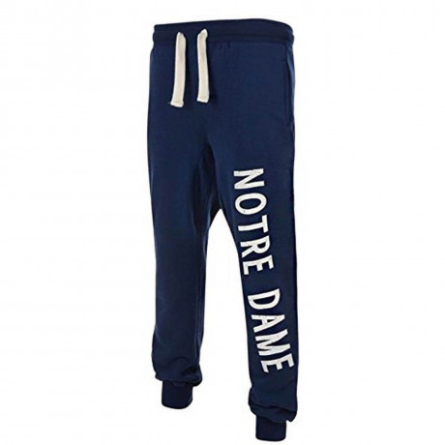 American Freshman Fleece Sweat Pants Notre Dame Bottoms Dress Blue