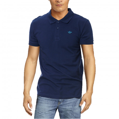 adidas Originals Men's Polo Shirt Dark Indigo