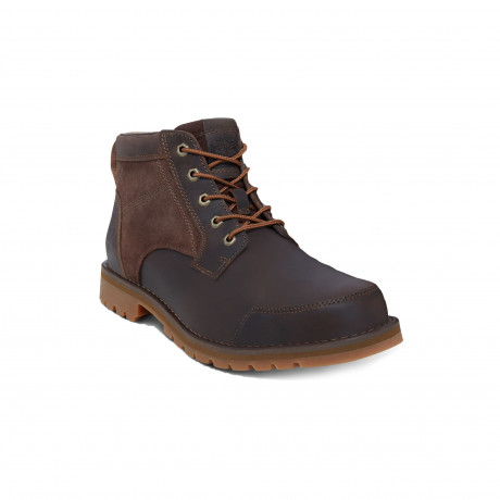 Timberland Mens Larchmont Chukka Leather Boots Boots Dark Brown | Jean Scene
