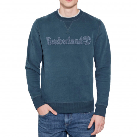 Timberland Men's Taylor River Sweatshirt Orion Blue | Jean Scene