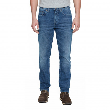 Timberland Squam Lake Stretch Denim Jeans Mid Indigo | Jean Scene