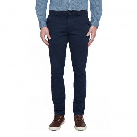 Timberland Profile Twill Stretch Slim Fit Cotton Chinos Dark Sapphire | Jean Scene