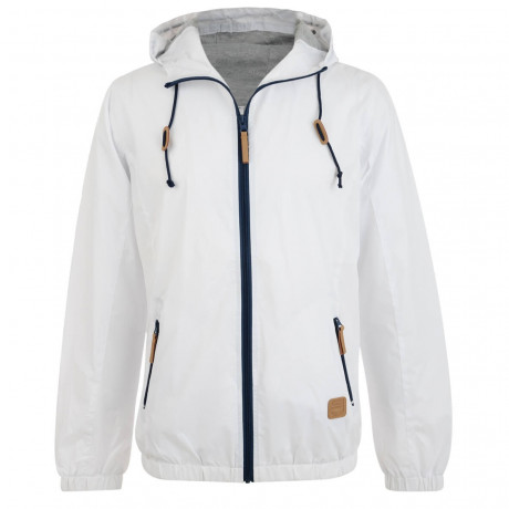 Smith & Jones Windbreaker Jacket White Image