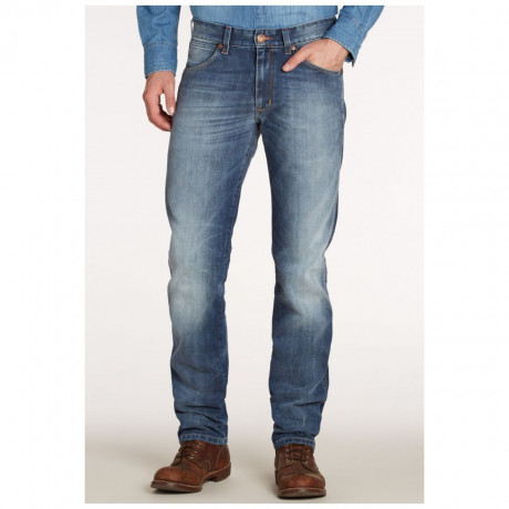 Wrangler Greensboro Standard Denim Jeans Real Heat Image