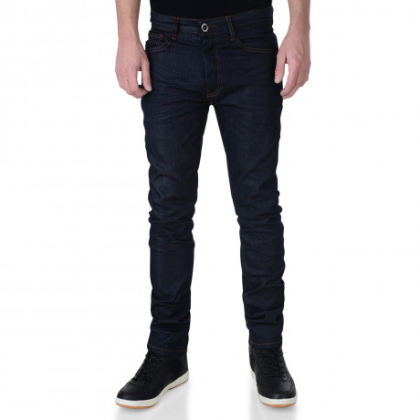 Firetrap Slim Fit Jeans Dark Blue Raw Wash Bromar Image
