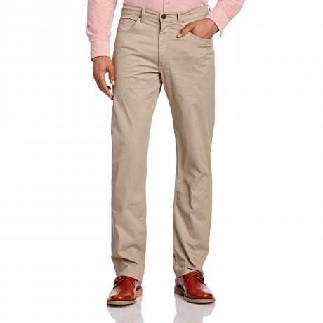 Lee Brooklyn Light Cotton Jeans Stretch Khaki Beige Image