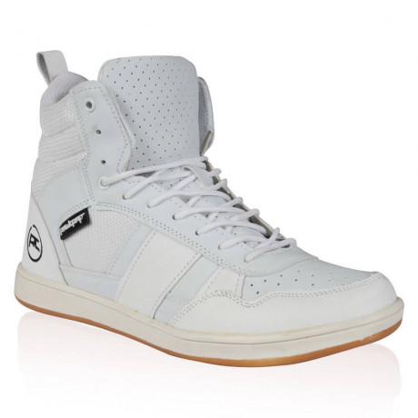 Rawcraft High Top Trainers Shoes White Image