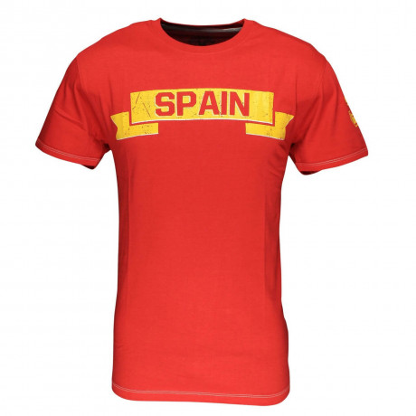 Soul Star Spain Banner T-shirt Red Image