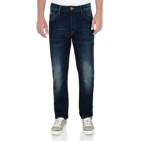 Lee Cooper Harry Work Jeans Faded Dark Wash Blue Image