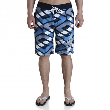 Smith & Jones Beach Swim Shorts & Flip Flop Set Latitude Navy Blue Image