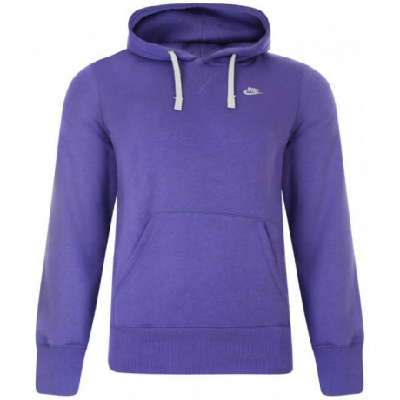 Nike Hooded Sweatshirt Hoodie Purple Image