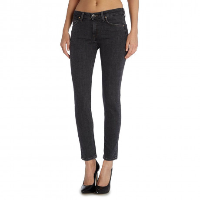 Lee Scarlett WoSkinny Stretch Jeans Black Wash Image