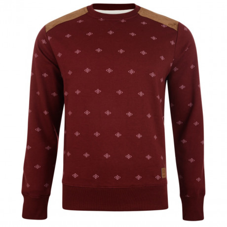 Smith & Jones Crew Sweatshirt Deep Plum  Image
