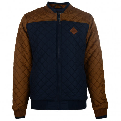 Blend Quilted Jacket Navy Blue Image
