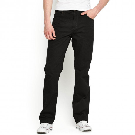 Wrangler Durable Basic Denim Jeans Reactive Black Image
