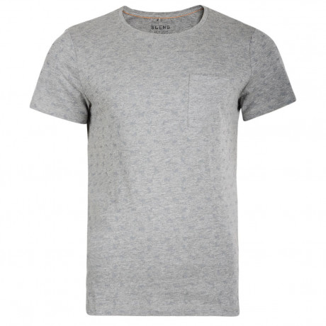 Blend Crew Slim Fit T-shirt Stone Mix Image