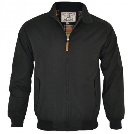 Soul Star Harrington Jacket Black Image