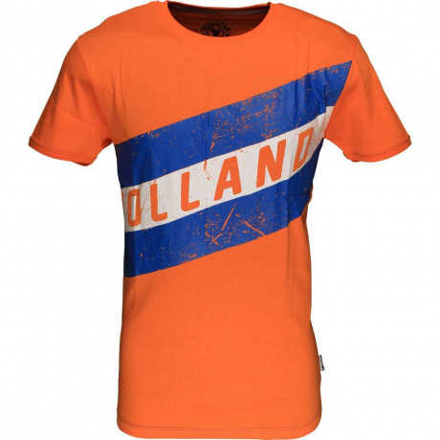 Soul Star Holland Flag T-shirt Orange Image