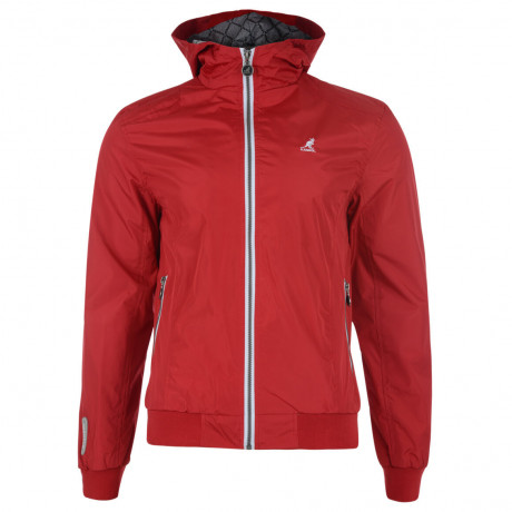 Kangol Hooded Track Jacket Red Image