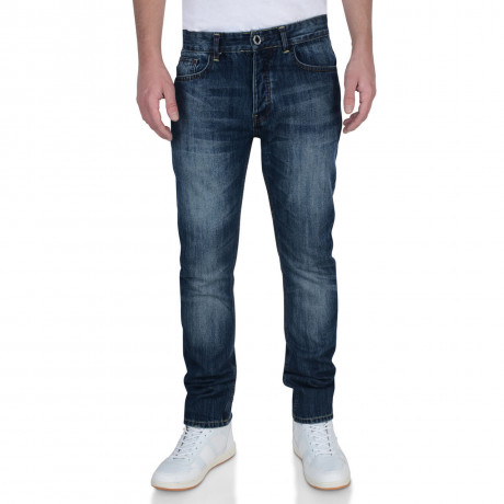 Firetrap Slim Fit Denim Jeans Stone Wash Blue Bromar Image