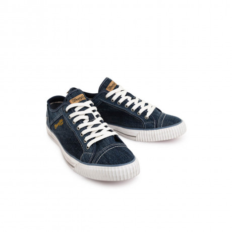 Wrangler Starry Lo Trainers Navy Blue Image
