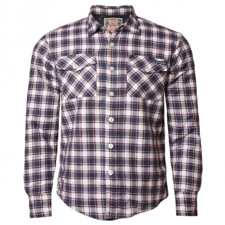 Tokyo Laundry Lined Check Shirt Red Image