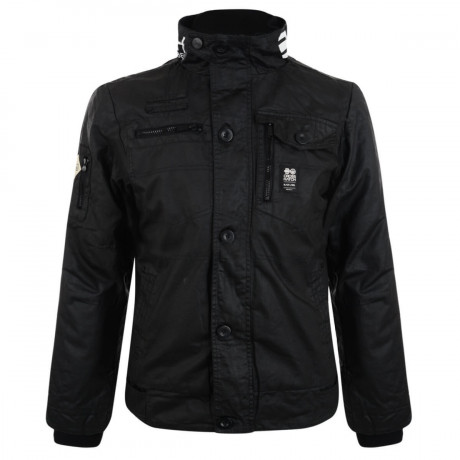 Crosshatch Padded Plixxie Jacket Black Image