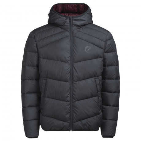 Jack & Jones Quilt Padded Jacket Asphalt | Jean Scene
