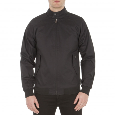 Ben Sherman Harrington Jacket Black | Jean Scene