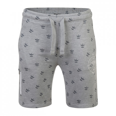 Firetrap Casual Bostall Jogger Shorts Grey Marl | Jean Scene