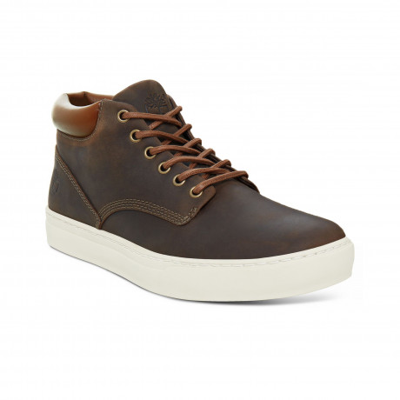 Timberland Mens Adventure 2.0 Cupsol Chukka Leather Boots Boots Dark Olive | Jean Scene