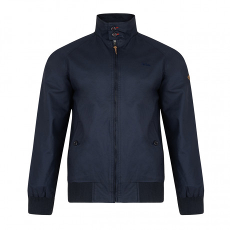 Lee Cooper Men's Cotton Classic Harrington Jacket Midnight | Jean Scene
