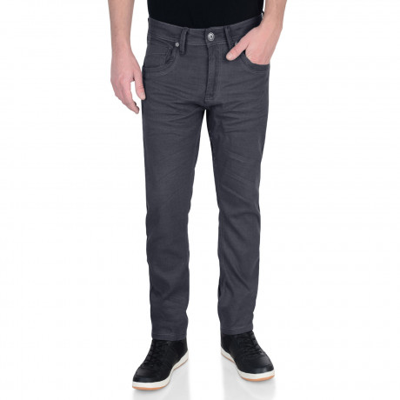 Crosshatch Menzo Slim Stretch Denim Jeans Grey | Jean Scene