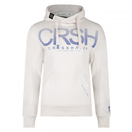 Crosshatch Men's Crusher Hoodie Vaporous Grey | Jean Scene