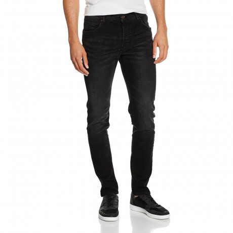 Firetrap Deadly Skinny Stretch Denim Jeans Black | Jean Scene