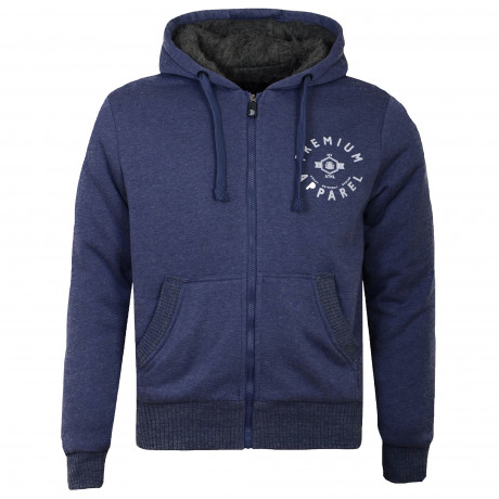 Smith & Jones Zip Up Men's Electra Hoodie Patriot | Jean Scene