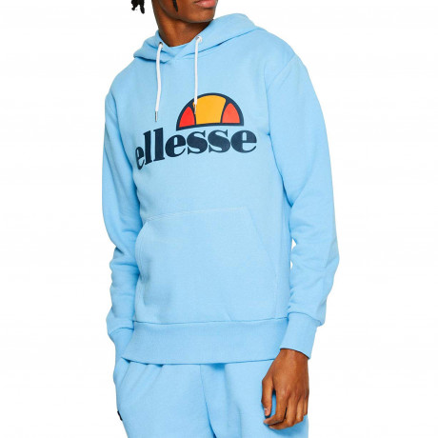 a155ccc72b Ellesse Gottero Logo Overhead Hoodie Light Blue