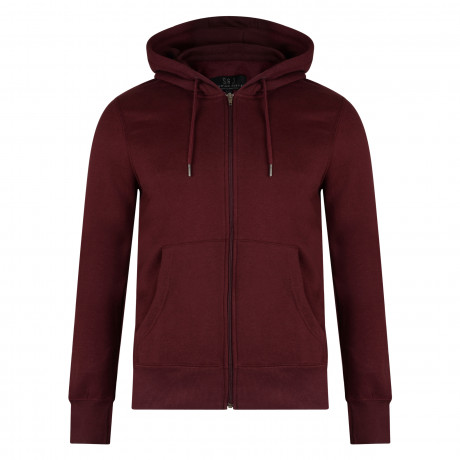 Smith & Jones Men's Zip Up Hoodie Port Royale | Jean Scene