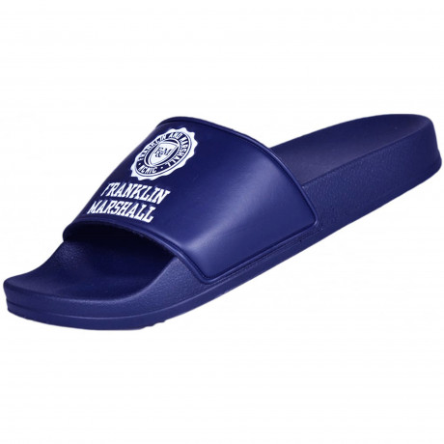 Franklin & Marshall Men's Footwear Slip On Sliders Sliders Bluette | Jean Scene