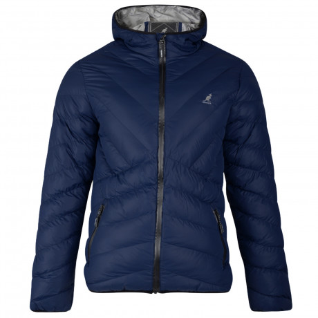 Kangol Winter Padded Jacket Navy Blue | Jean Scene