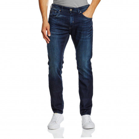 Duck and Cover Harlequin Slim Fit Stretch Denim Jeans Darkwash | Jean Scene